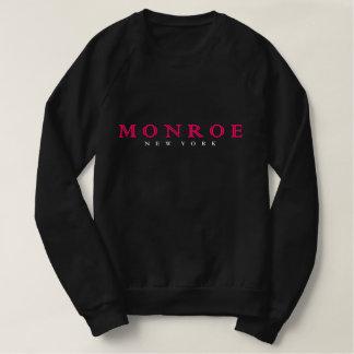 Sudadera sudor del negro de Monroe