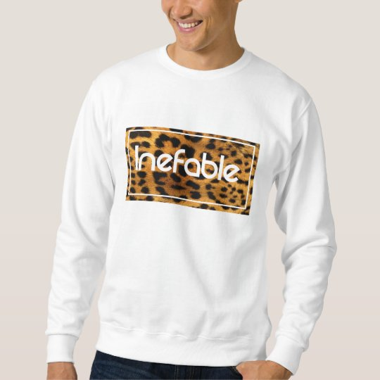 Sudadera sweatshirt ANIMAL básica logo INEFABLE