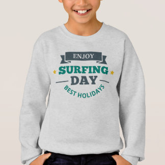 Sudadera T - shirt Muchacho Surf