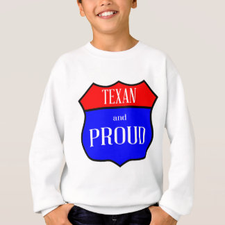 Sudadera Tejas y orgulloso
