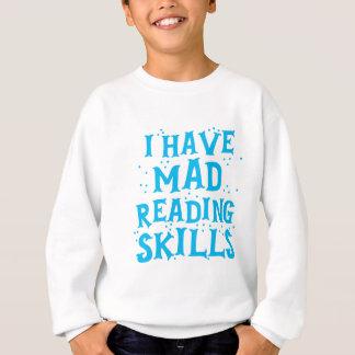 Sudadera tengo habilidades de lectura enojadas
