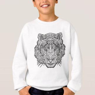 Sudadera Tigre - ejemplo blanco y negro - colorante adentro