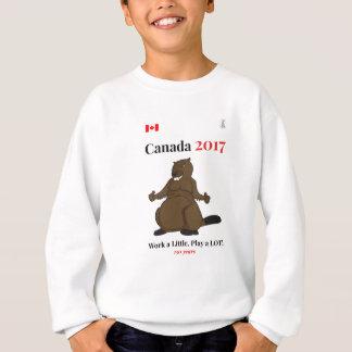 Sudadera Trabajo del castor de Canadá 150 en 2017