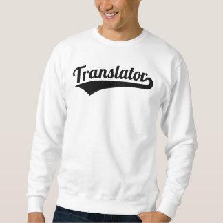 Sudadera Traductor