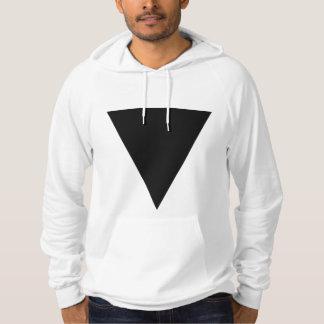 Sudadera Triángulo negro mínimo