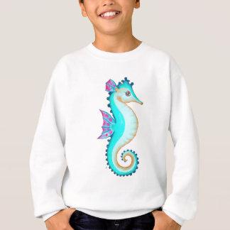 Sudadera Turquesa del Seahorse