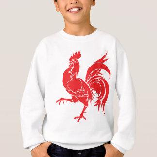 Sudadera Un gallo rojo