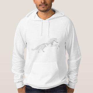 Sudadera Unicornio del blanco del ejemplo