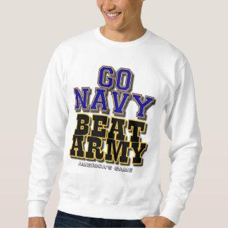 Sudadera Va el ejército del golpe de la marina de guerra -