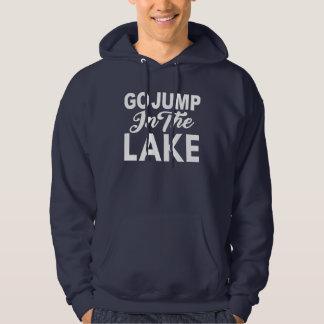 Sudadera Va el salto en el lago