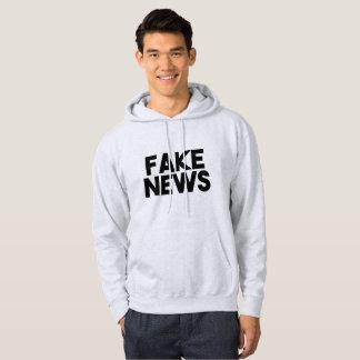 Sudadera Verdad de moda del poste de las noticias falsas