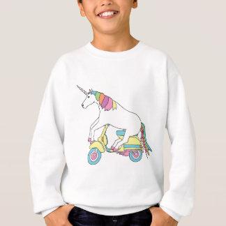 Sudadera Vespa de motor del montar a caballo del unicornio