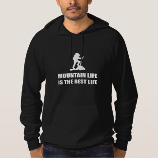 Sudadera Vida de la vida de la montaña la mejor
