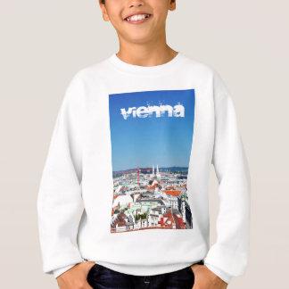 Sudadera Vista aérea de Viena, Austria