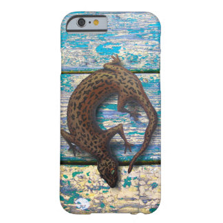 SUDOESTE del LAGARTO del ALCOHOL por Funda Barely There iPhone 6