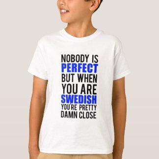 Sueco Camiseta