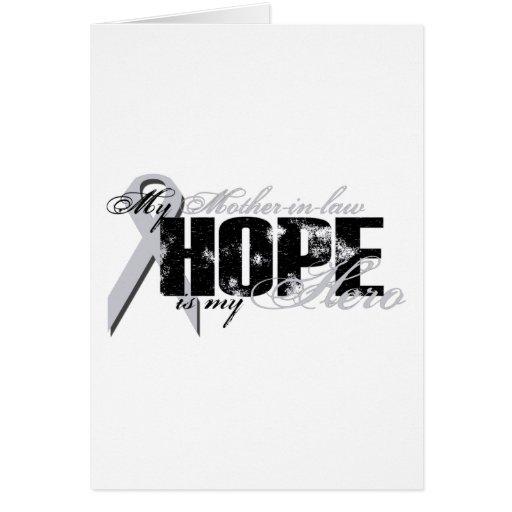 Suegra mi héroe - esperanza del pulmón tarjetón