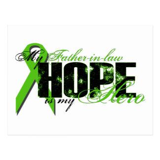 Suegro mi héroe - esperanza del linfoma postales