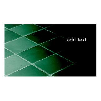 suelo y tejas de la pizarra plantillas de tarjeta de negocio