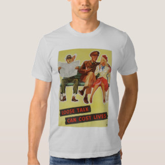 Suelte la camiseta de las vidas del coste de la