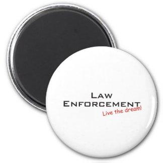 Sueño/aplicación de ley imán redondo 5 cm
