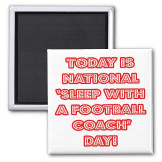 Sueño con el día nacional de un entrenador de fút imán para frigorifico