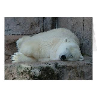 Sueño con icebergs tarjeta de felicitación