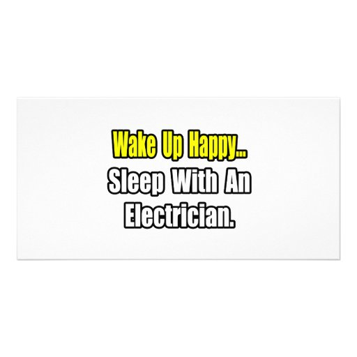 Sueño con un electricista tarjeta personal