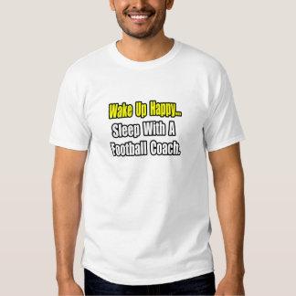 Sueño con un entrenador de fútbol camiseta