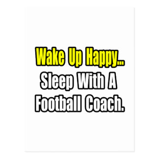 Sueño con un entrenador de fútbol tarjetas postales