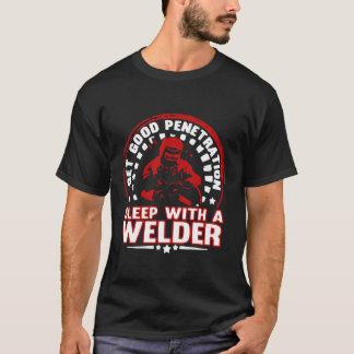 Sueño con un soldador camiseta