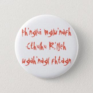 Sueño de Cthulhu Chapa Redonda De 5 Cm
