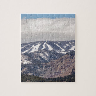 Sueño de la cuesta del esquí puzzle