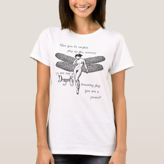 Sueño de la libélula camiseta