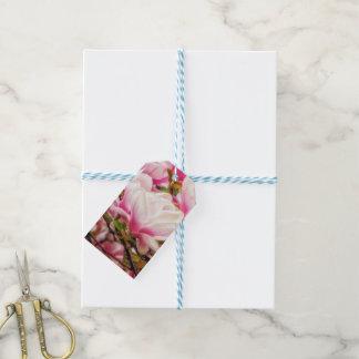 Sueño de la magnolia etiquetas para regalos
