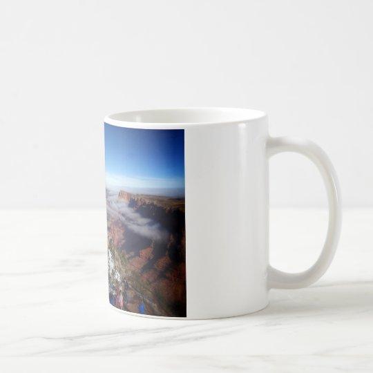 Sueño de la nube del Gran Cañón Taza De Café