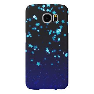 Sueño de las estrellas azules - galaxia S6, Barely Funda Samsung Galaxy S6