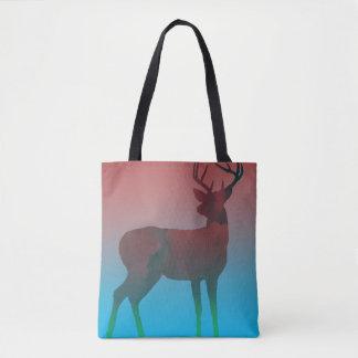 Sueño de los ciervos bolsa de tela