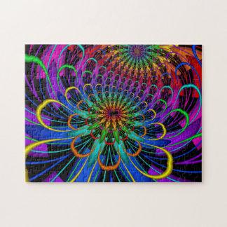 Sueño de Lotus del fractal Puzzle