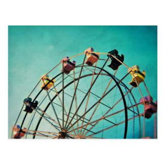 Sueño del Aquamarine - postal de la fotografía del