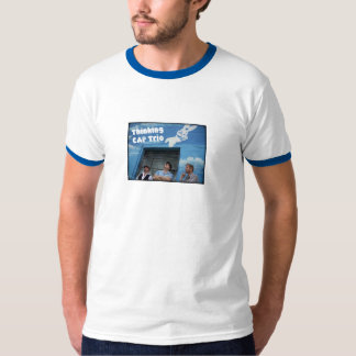 Sueño del azul del trío del CASQUILLO de Camiseta