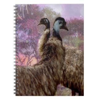 Sueño del Emu Cuaderno