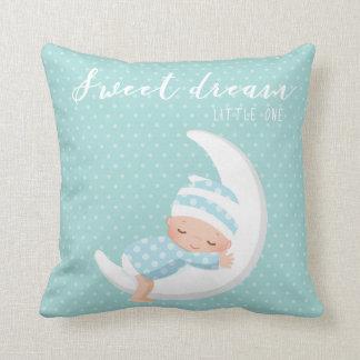 Sueño dulce * elija el color de fondo cojín decorativo