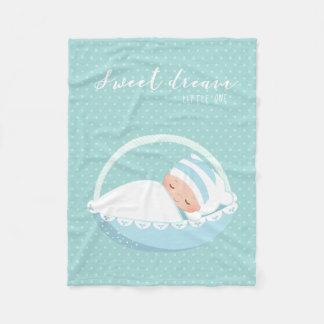 Sueño dulce * elija el color de fondo manta polar