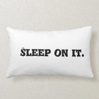 Sueño en él almohada