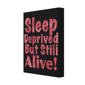 Sueño privado pero aún vivo en frambuesa lienzo