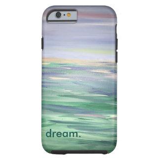 Sueño sobre las aguas abiertas, caja dura del funda resistente iPhone 6