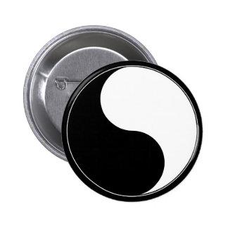Sueño Yin y botón del logotipo de Yang
