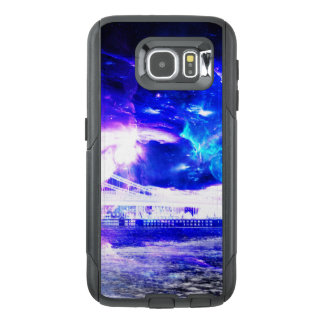 Sueños Amethyst de Budapest del zafiro de Amorem Funda OtterBox Para Samsung Galaxy S6