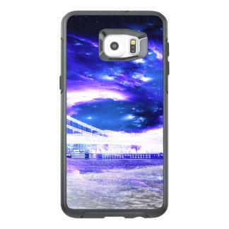 Sueños Amethyst de Budapest del zafiro Funda OtterBox Para Samsung Galaxy S6 Edge Plus